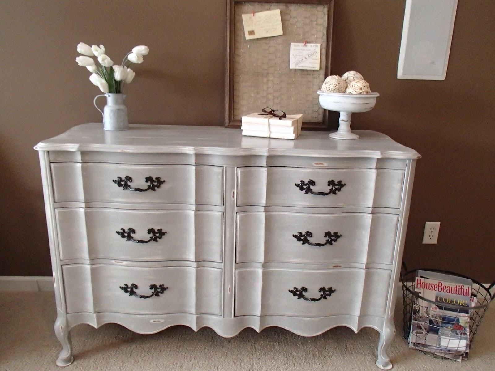 Paris Grey Dresser