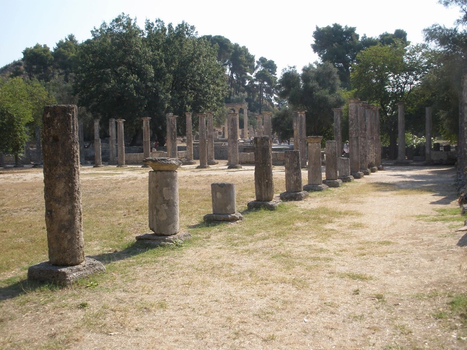 Gimnasio de Olimpia