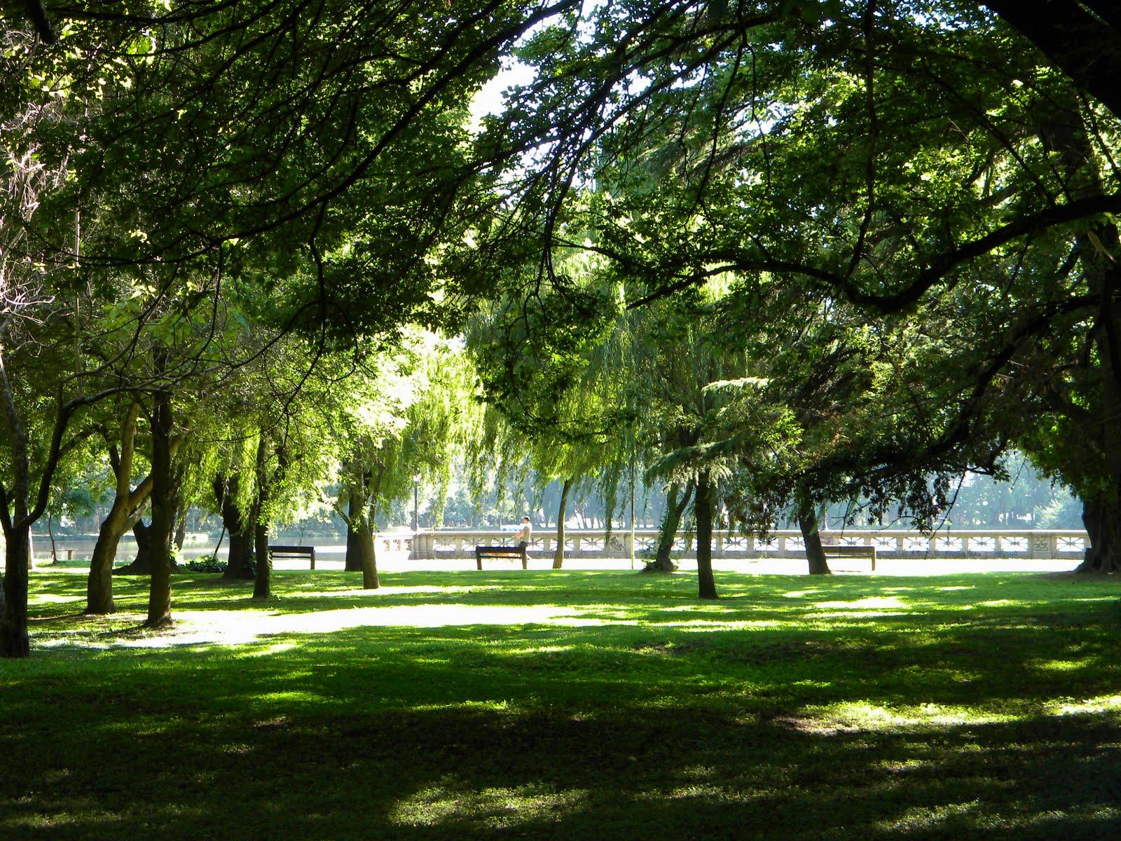 Estamos a pleno verano  en el Parque San Martín