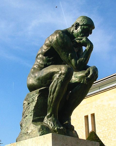 Thinker >> Rodin S The Thinker Art History Blogger