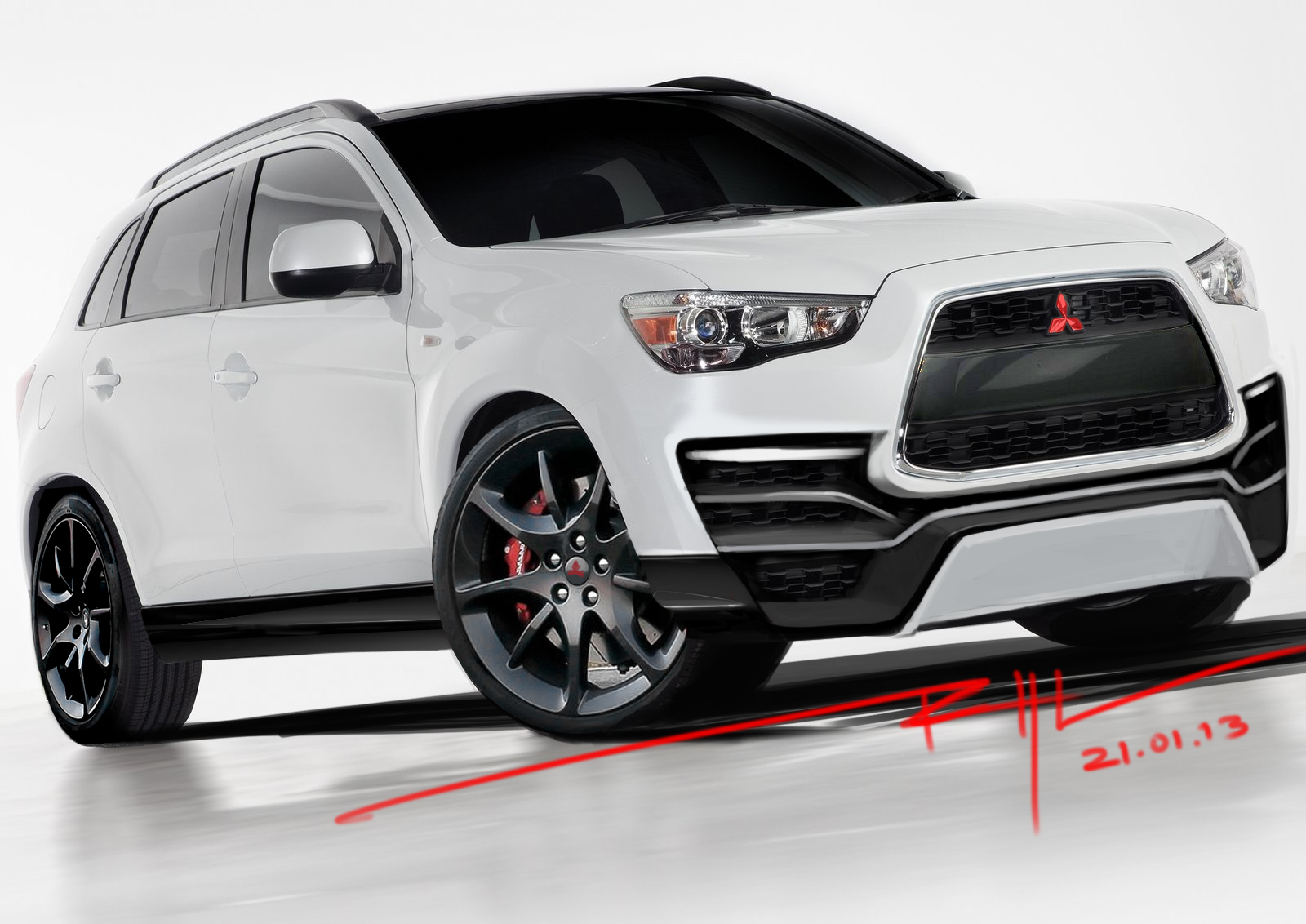 Car Modification Idea: Mitsubishi Outlander Sport