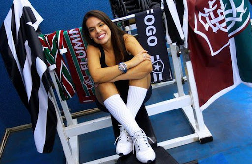 Brazilian ball girl Fernanda Maia will be appearing in Playboy for its July edition