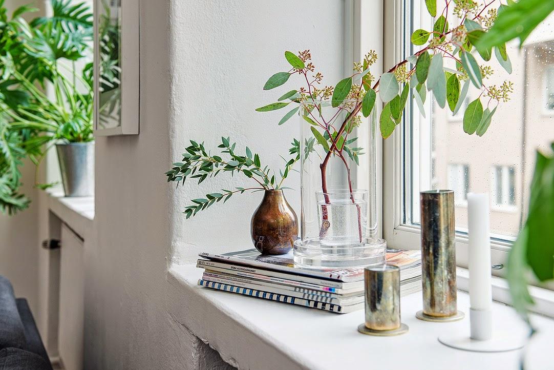 Decoraci n f cil diariodeco11 decorar con plantas las for Plantas salon decoracion