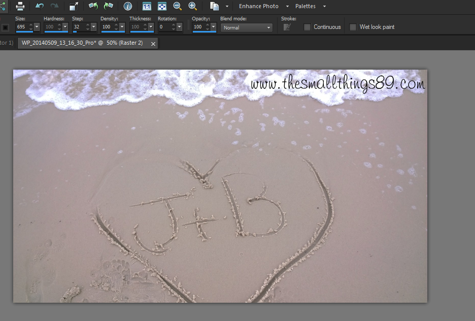 how to change the opacity in hitflim 4