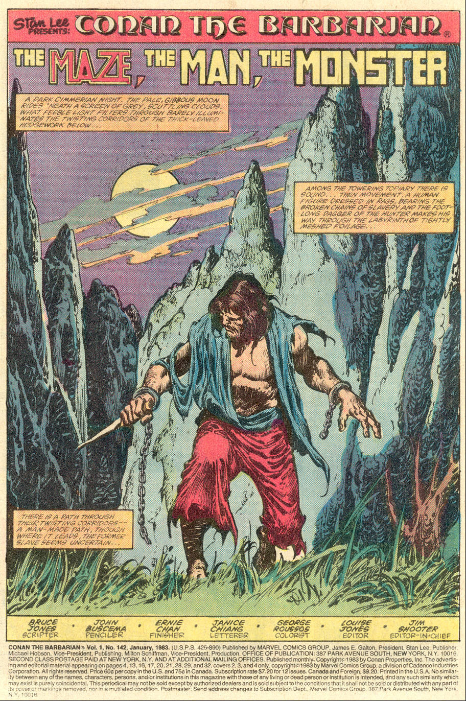 Conan the Barbarian (1970) Issue #142 #154 - English 2