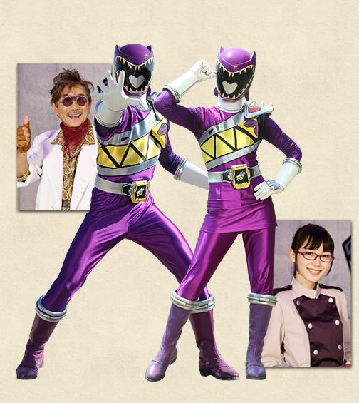 Henshin Grid: Violet Power Ranger