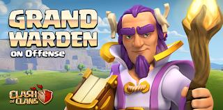 Berapa Biaya dan Waktu Untuk Upgrade Grand Warden, Tentang Biaya dan Waktu Upgrade Grand Warden, Berapa banyak kerusakan Grand Warden, Tentang Biaya dan Lamanya Upgrade Grand Warden.