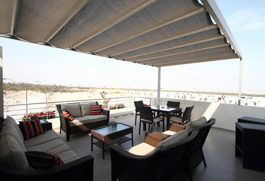 Casas en venta y departamentos casa muestra modelo 211scl for Modelos de terrazas cerradas