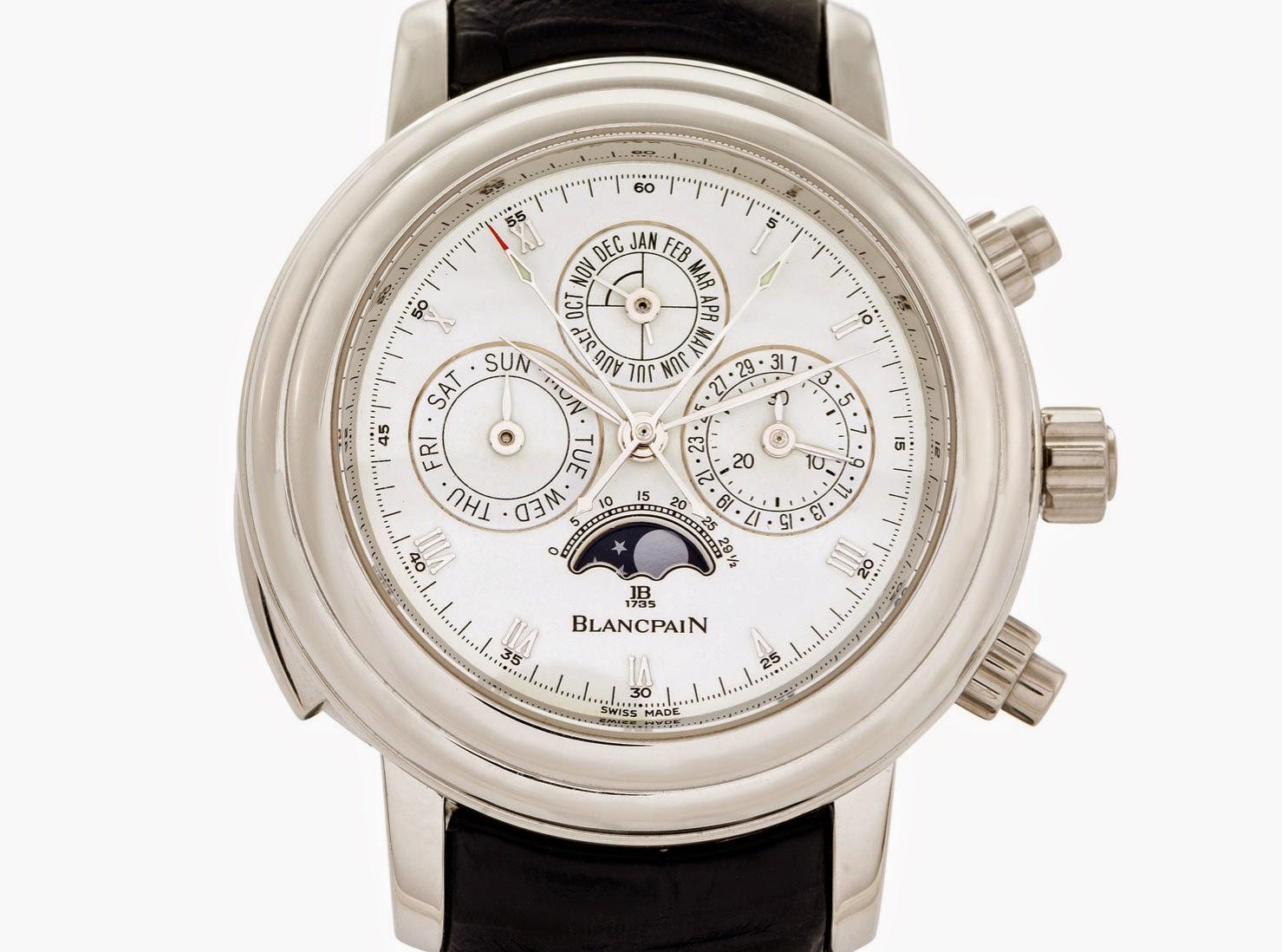 Auctions: rare Blancpain 1735 Grande Complication on sale at Antiquorum