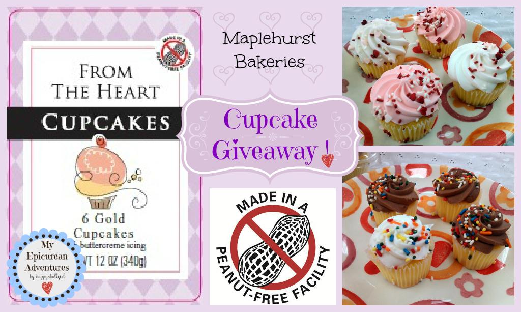 Jnj My Store >> Maplehurst Bakeries Peanut-Free Cupcakes GIVEAWAY! - My Epicurean Adventures