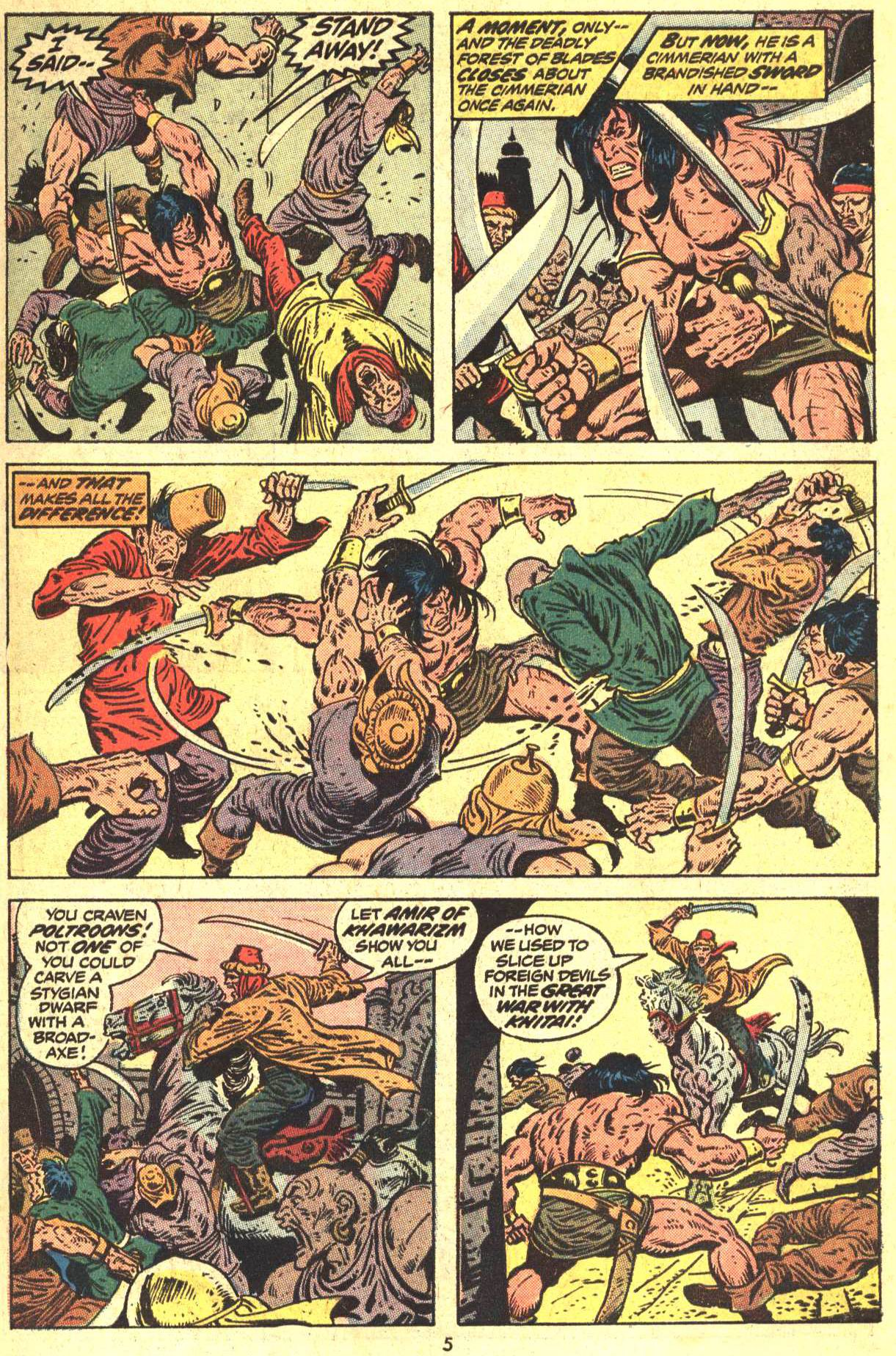 Conan the Barbarian (1970) Issue #29 #41 - English 5