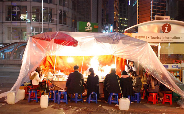 Korean Street Food - Pojangmacha (????) & Hanguk Story: Korean Street Food - Pojangmacha (????)