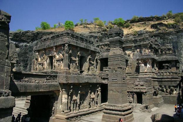 The Ellora Caves India