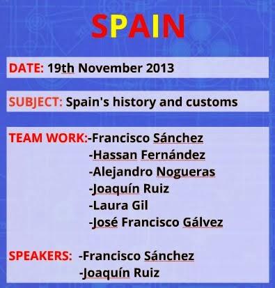 Presentation of Spain