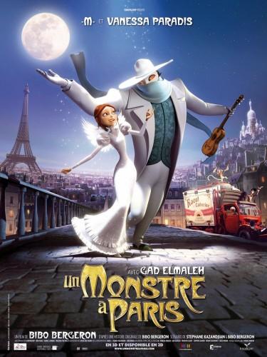 Um Monstro em Paris Dublado