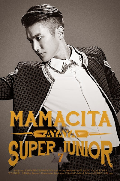 Super Junior Mamacita Ayaya Siwon