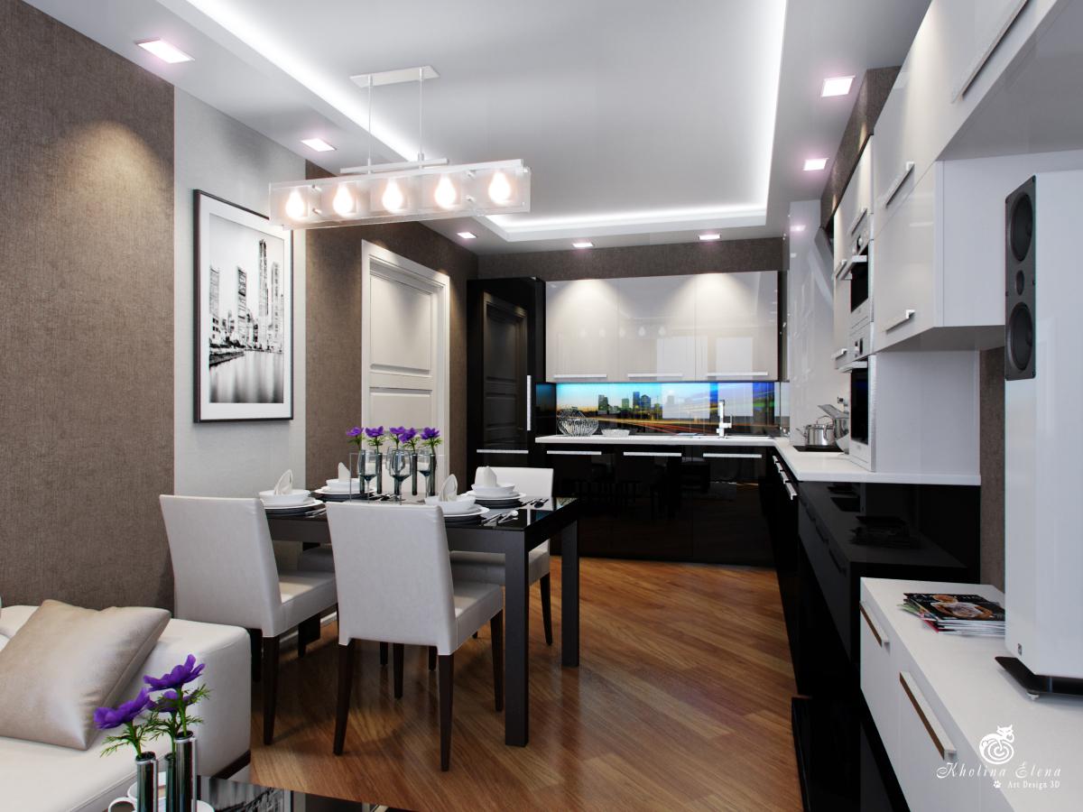 Гостиная фото дизайн и ремонт кухни