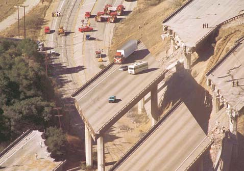 my friend pam reminded me this morning that today is the 18 year anniversary of the 1994 northridge earthquake in southern california
