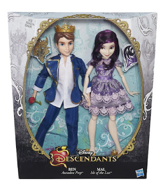 TOYS : JUGUETES - DISNEY Los Descendientes | Descendants     Pack : Ben & Mal | Muñeca - Doll  Isle of the Lost | La Isla de los Perdidos | Auradon Prep  Dove Cameron & Mitchell Hope  Producto Oficial 2015 | Hasbro B3115 | A partir de 6 años