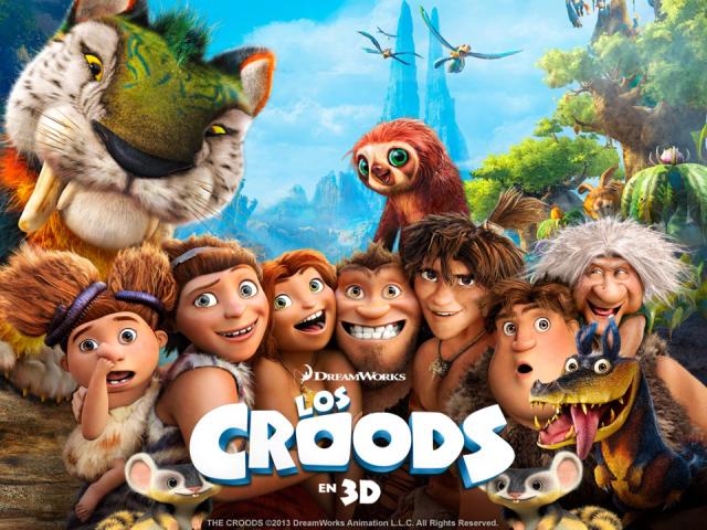 La película The Croods