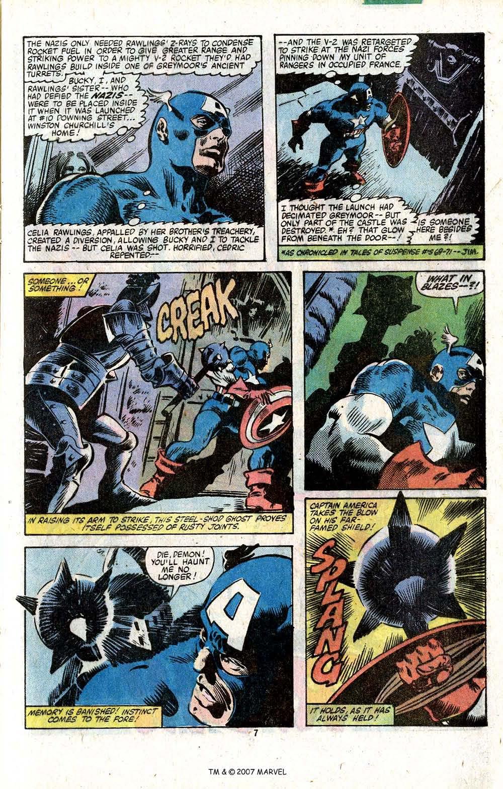 Captain America (1968) Issue #256 #171 - English 9