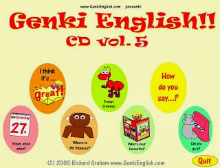 http://primerodecarlos.com/julio/GeNKi_eNGLiSH/GeNKi%20eNGLiSH%20CD5/MENU.HTM