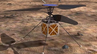 NASA Ingin Mengirim Helikopter ke Mars