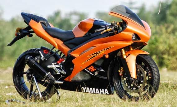 Modifikasi Lampu Depan Yamaha Vixion