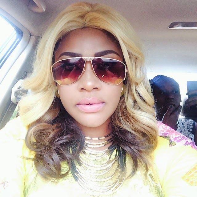 Actress Angelia Okorie Debuts New Hair Do