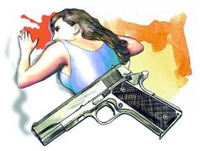Hombre asesina a puñaladas exconcubina e hija menor de edad