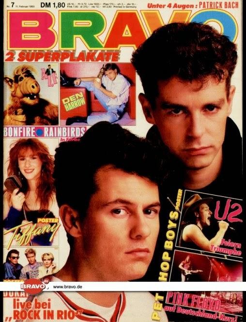 Bravo Boys madonna in bravo bravo february 11 1988 issue nr 07