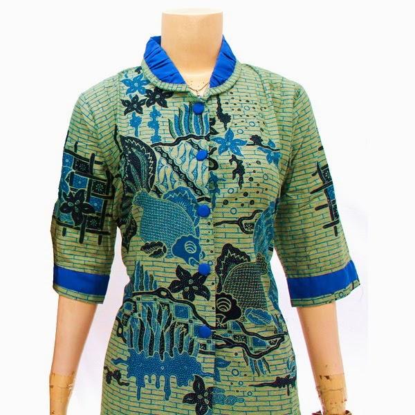 SR719 Grosir Baju Batik pasangan/Couple 2014