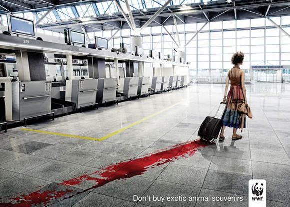 WWF controversial print ad