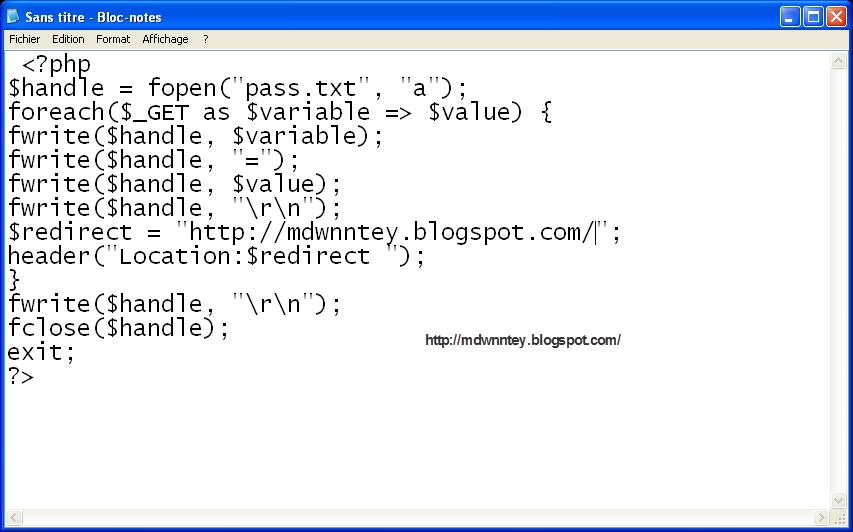 انشاء صفحة مزورة بسيطة من دون برامج  07-03-2013+20-01-54