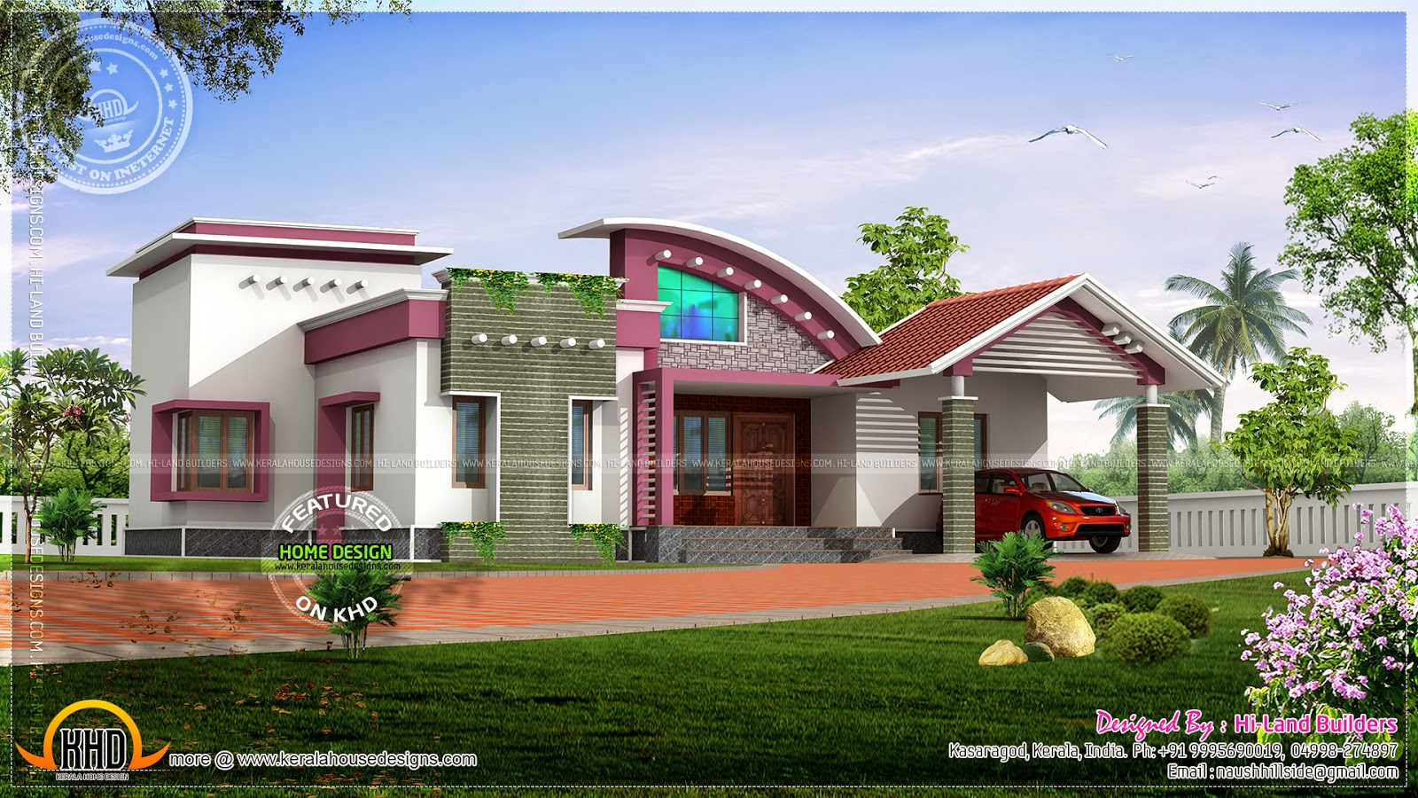 Modern nalukettu house pictures House and home design