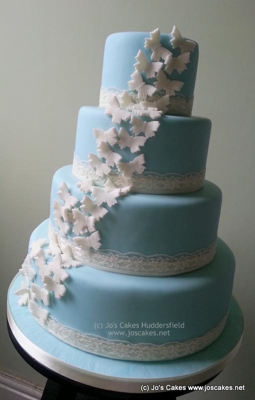 Recipe for a 4 tier wedding cake