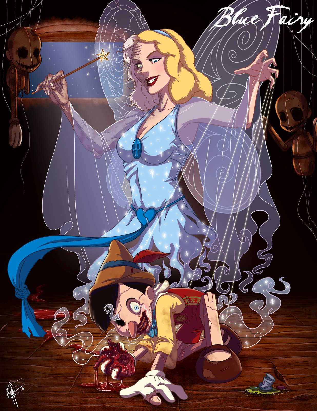 What If Disney Princesses Were Bad