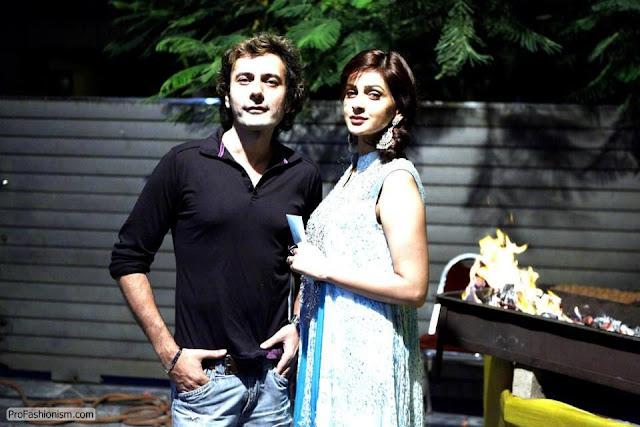 Saba Qamar and Azeem Sajjad