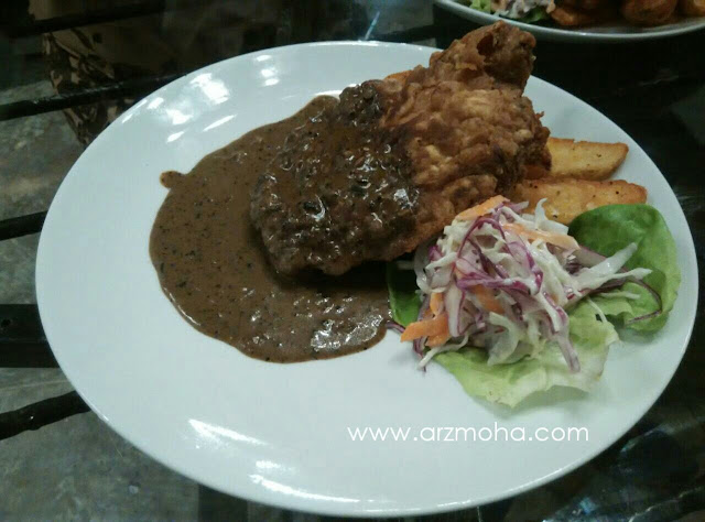 AB Cafe Chicken Black Pepper, gambar chicken balck pepper, gambar makanan cantik, penang,