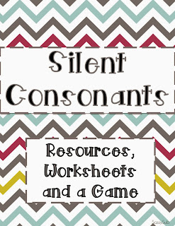 http://www.teacherspayteachers.com/Product/Silent-Consonants-Resources-Worksheets-and-a-Game-1031150