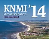 uitsnede cover KNMI'14: klimaatscenario's voor Nederland