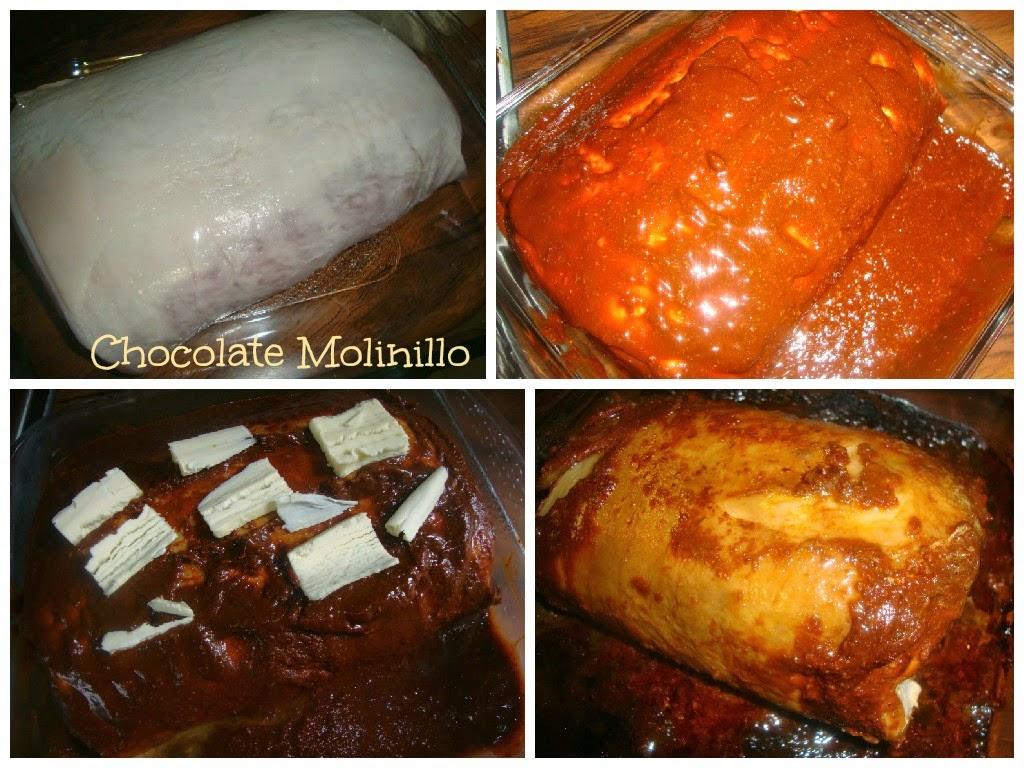 Lomo de Cerdo Enchilado (procedimiento)