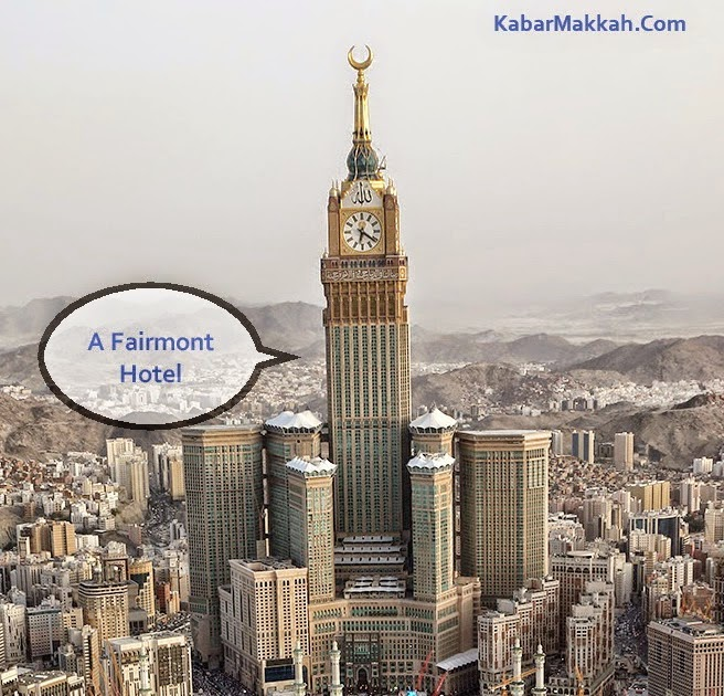 Makkah Clock Royal Tower A Fairmont Hotel