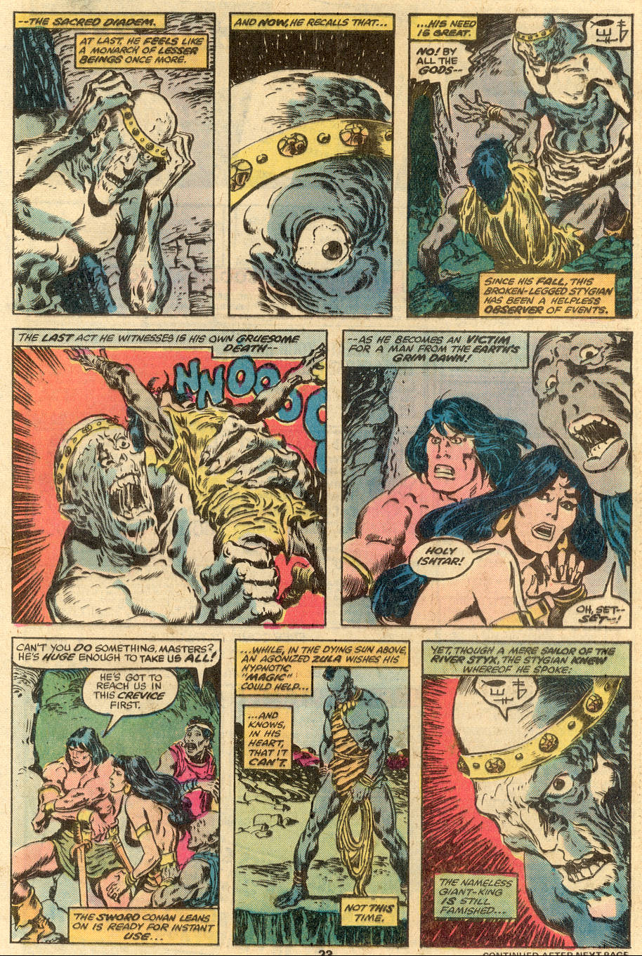 Conan the Barbarian (1970) Issue #90 #102 - English 15