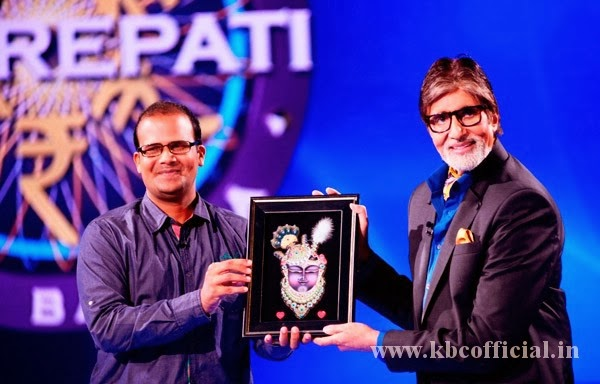 KBC Grand Finale Taj Mohammad Rangrez Exclusive Picture
