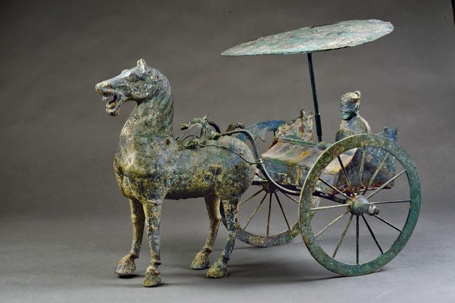 Бронзовая колесница