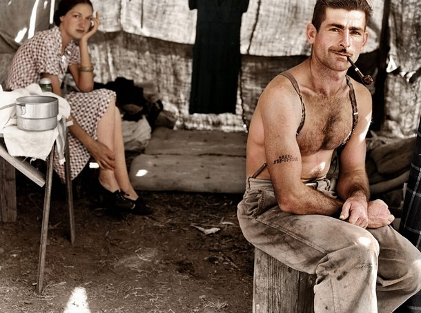 Unemployed lumber worker, circa 1939