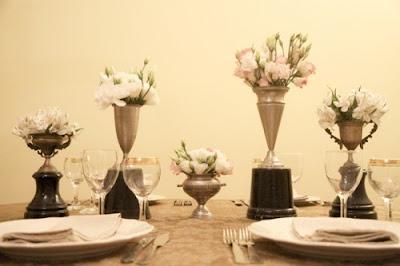 Beautiful Vintage Wedding Centerpiece Vases