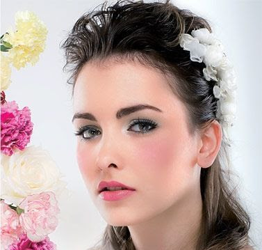 Romance wedding makeup