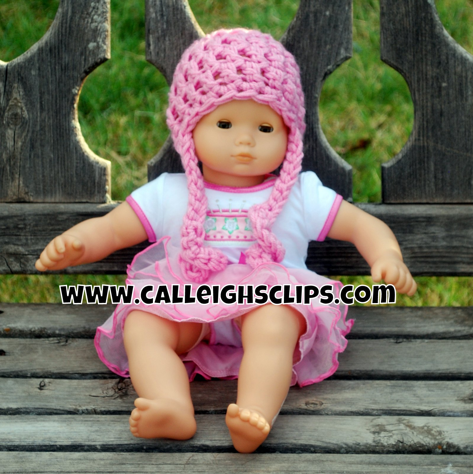 Calleigh\'s Clips & Crochet Creations: Free Pattern - Bitty Baby ...